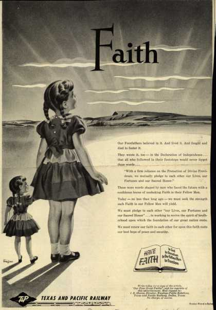 Texas and Pacific Railway's Faith in our Fellow Man – Faith (1954)