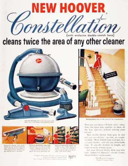 Hoover Constellation Vacuum (1955)