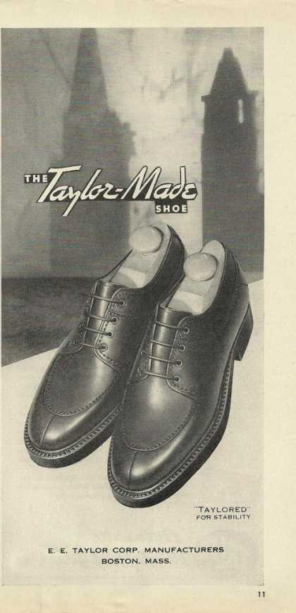 Taylor Made Dress Shoes for Men (1946)