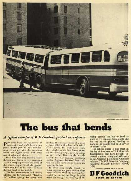 B.F. Goodrich Company – The bus that bends (1947)