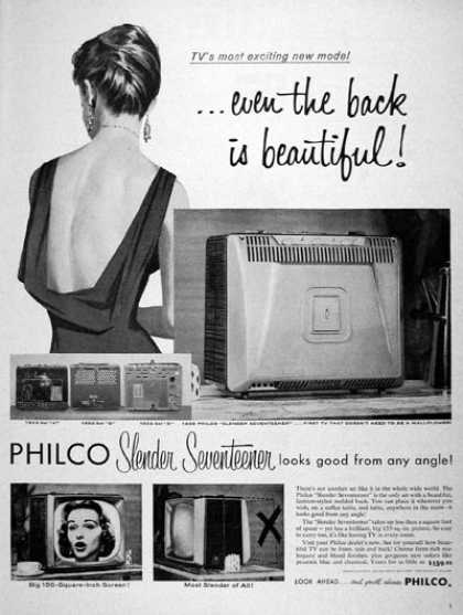 Philco Portable TV Set #3 (1957)