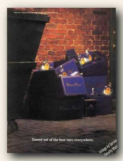 Tossed Out of Best Bars Trash Chivas Regal (1989)