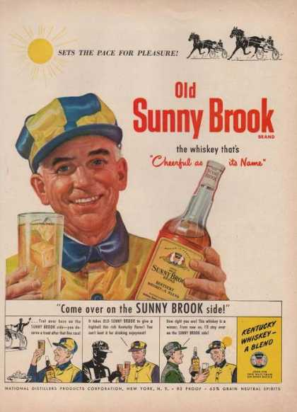Sunny Brook Kentucky Whiskey (1949)
