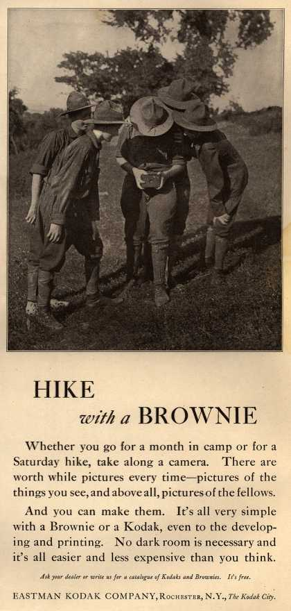 Kodak – Hike with a Brownie (1917)
