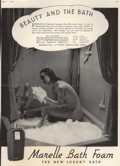 Marelle – Beauty And The Bath (1938)