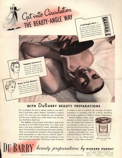 Richard Hudnut's Beauty-Angle – Get into Circulation The Beauty-Angle Way (1938)