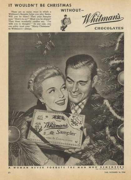 Whitmans Sampler Candy (1946)