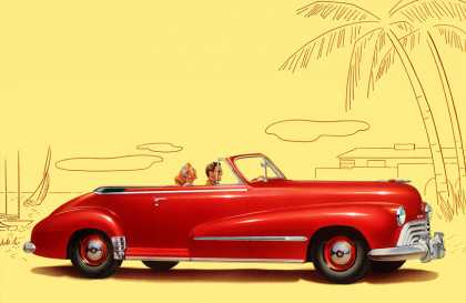 "Oldsmobile Series ""60"" Convertible Coupe (1948)"