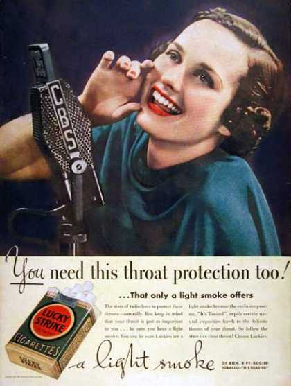 Lucky Strike Cigarettes (1937)
