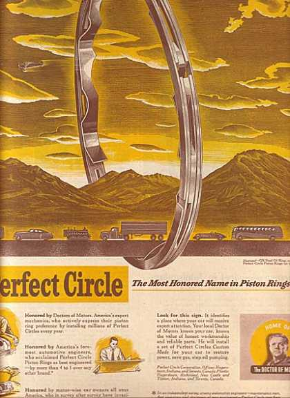 Perfect Circle's Piston Rings (1950)