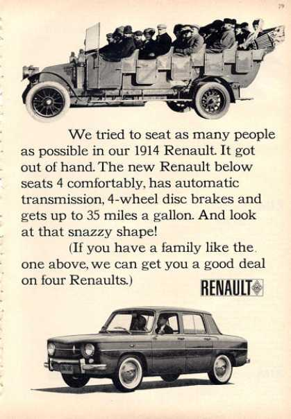 Renault and 1914 Renault (1964)