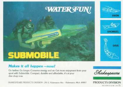 Sunmobile Diving Swim Snorkel T (1978)