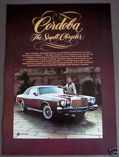 Original Chrysler Cordoba Car (1975)