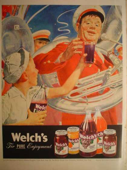 Welch's Juice Jam For Pure Enjoyment (1947)