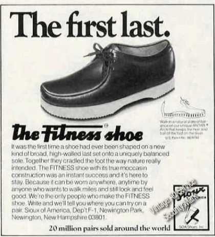 The First Last. Fitness Shoe Sioux of America (1978)