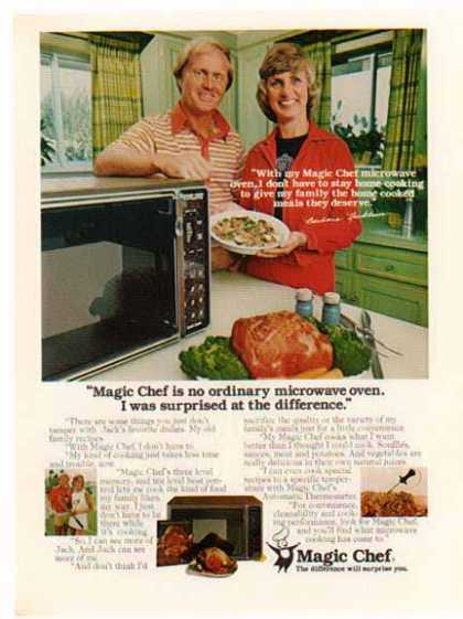 Magic Chef – Golf – Jack & Barbara Nicklaus (1977)