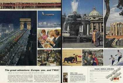 Europe You & Twa Beautiful Photos Travel (1963)