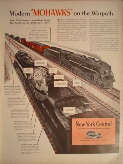 New York Central Railroad Mohawks (1944)