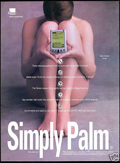 Palm V Handheld 3com Organizer Nude Photo (1999)
