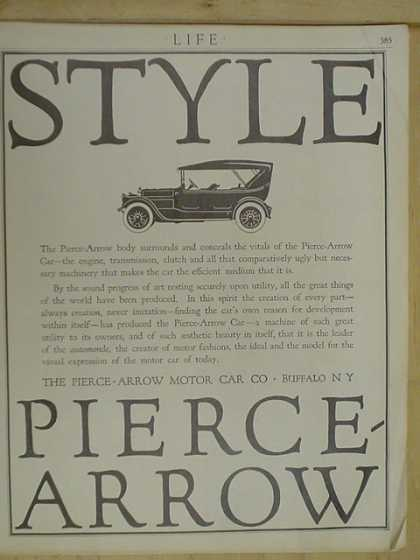Pierce Arrow Auto Company Buffalo NY (1916)