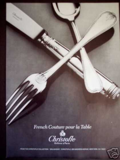 Christofle French Tableware Photo (1985)
