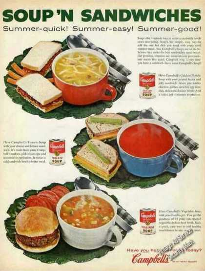 "Campbells ""Soup 'n Sandwiches"" (1961)"