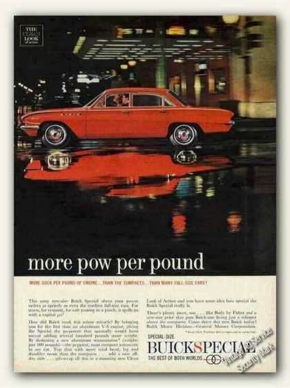 "Red Buick Special ""More Pow Per Pound"" (1961)"