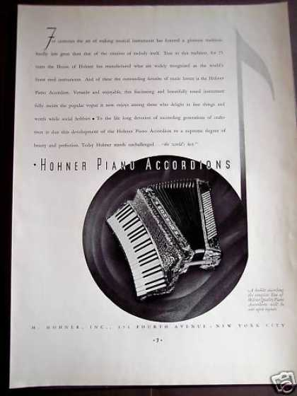 Hohner Piano Accordions Music (1934)