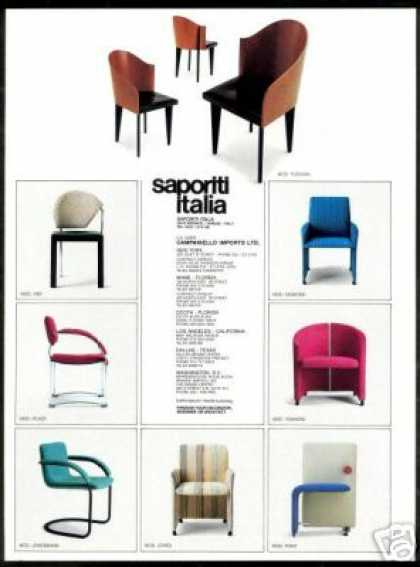 Saportti Italia Chair Photo Furniture (1989)