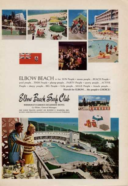 Elbow Beach Surf Club Bermuda (1965)