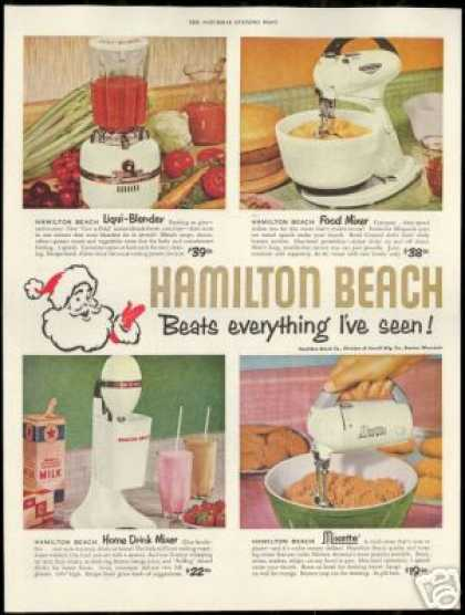 Hamilton Beach Small Kitchen Appliances (1954)