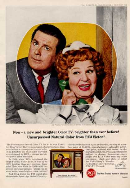 Rca Tv Television Hazel Shirley Booth (1964)