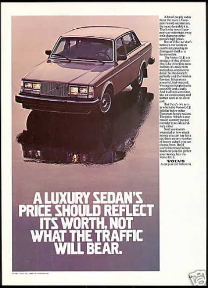 Volvo GLE Car Photo Luxury Sedan Price (1981)