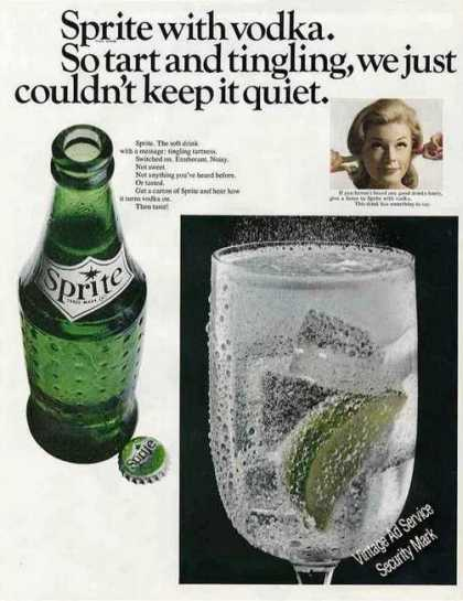 Sprite With Vodka Collectible (1967)