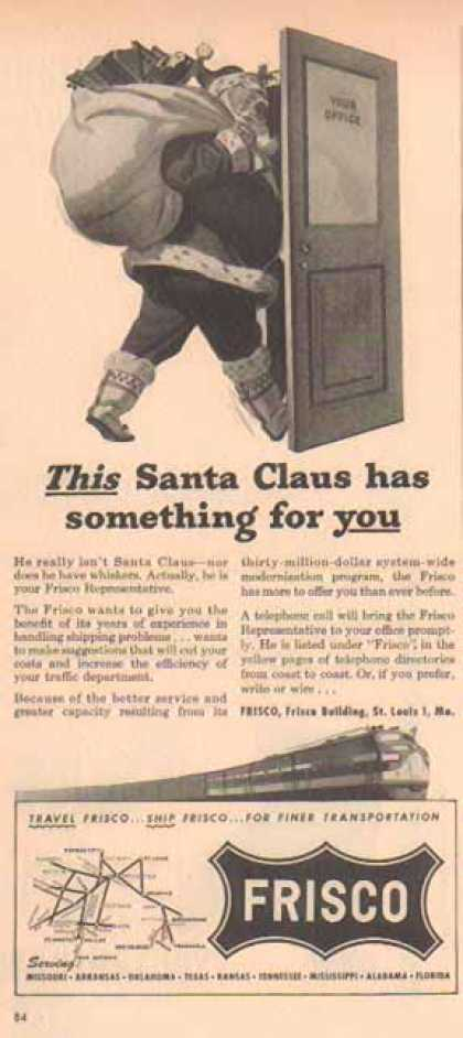 Frisco Railroad – Santa Claus (1948)