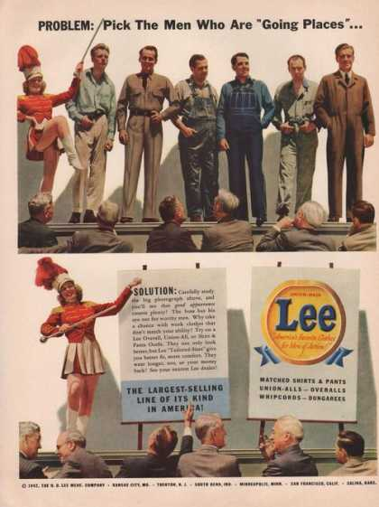 Lee Men of Action Favorite Clothes Print A (1942)