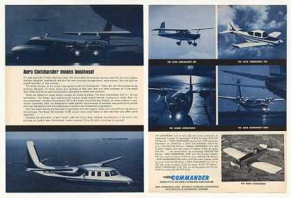 &#8217;66 Aero Commander Jet Turbo 100 200 Grand 500U Snow (1966)