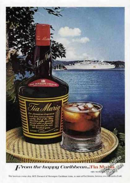Tia Maria Liqueur From Port Antonio Jamaica (1975)