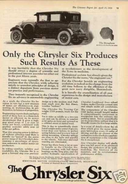Chrysler Six Brougham Car (1924)