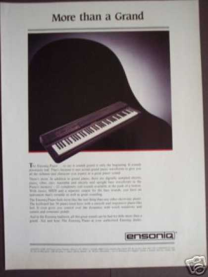 Ensoniq Electric Grand Piano (1986)