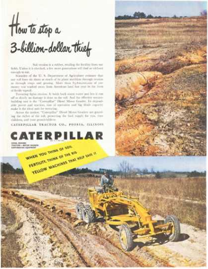 Caterpillar Road Grader (1949)