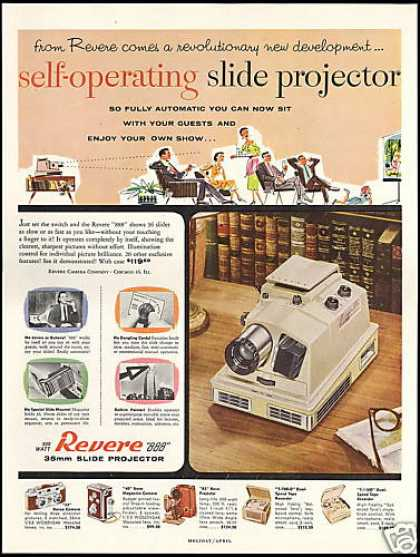 Revere Self Operating Camera Slide Projector (1955)