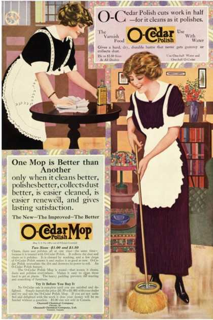 O-Cedar, Polish Dusting Products, USA (1910)