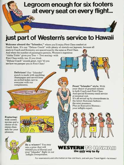 Western to Hawaii