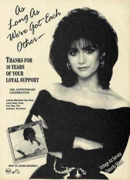 Louise Mandrell Photo Music Promo (1988)