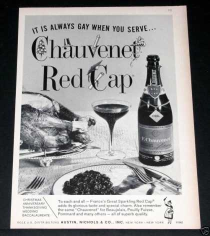 "Chauvenet Red Cap, ""Always Gay!"" (1964)"