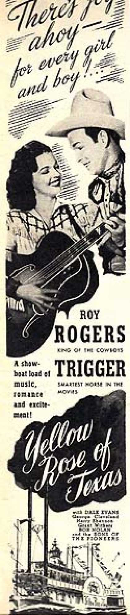 Yellow Rose of Texas (Roy Rogers) (1944)