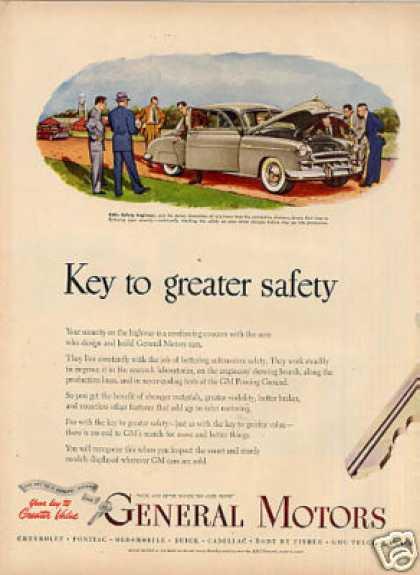 General Motors Ad 2 Page (1949)
