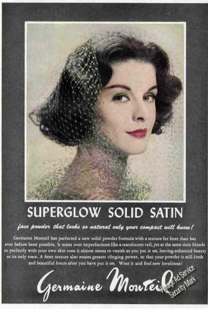 Germaine Monteil Superglow Solid Satin Powder (1959)
