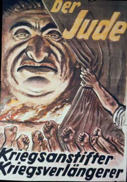Nazi anti-Semitic poster